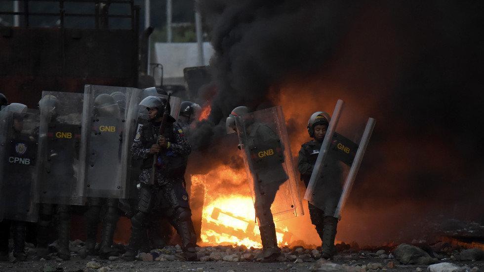 حمله نظامی به ونزوئلا قوت گرفت، مایک پنس به شورای امنیت می رود