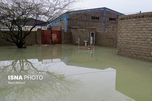 خسارت دیدگان بارندگی هرمزگان به فرمانداری ها مراجعه نمایند