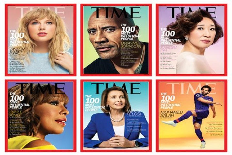 اسامی 100شخصیت تاثیر گذار سال به انتخاب مجله تایم منتشر شد