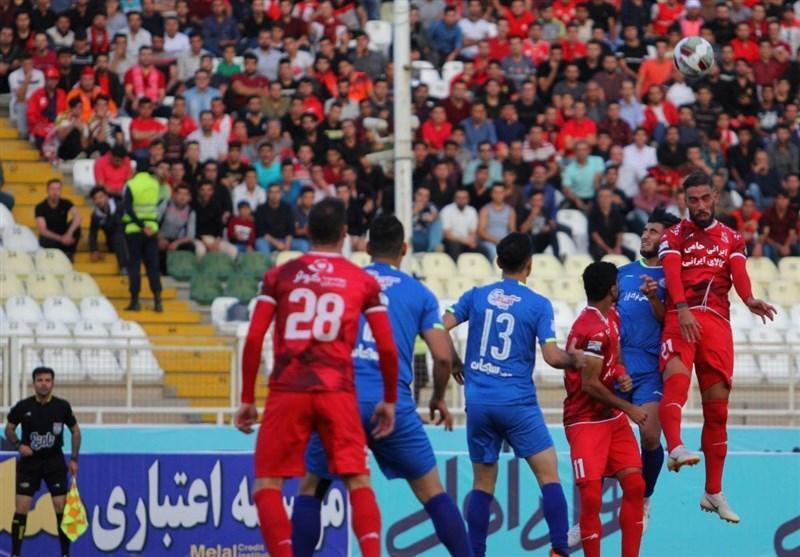 لیگ برتر فوتبال، تساوی یک نیمه ای تراکتورسازی مقابل پیکان