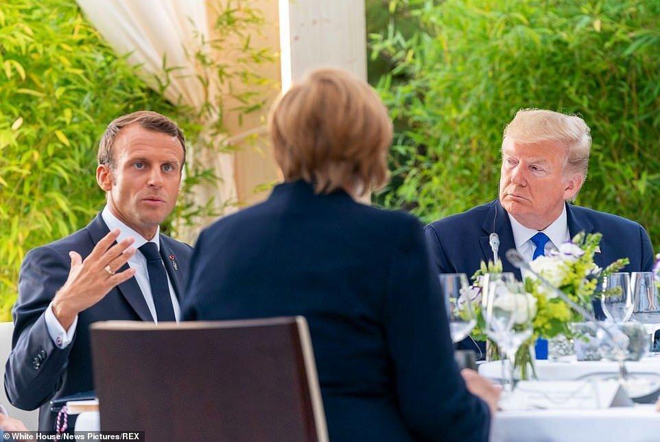 مقامات آمریکا: فرانسه در تلاش برای انزوای ترامپ در گروه 7 است